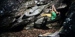 Bouldern in Varazze, Italien
