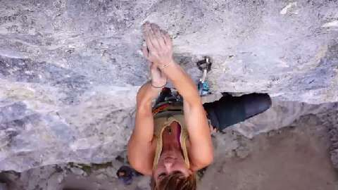 Joe Kinder climbing Essentials: Slopers