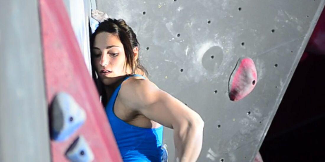 KL Alex Puccio bouldering ABS Nationals 2012