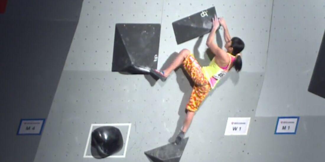KL Ashima Shiraishi US-Bouldering Nationals 2017