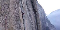 KL Brad Gobright + Jim Reynolds Speedrekord Nose am El Capitan, Yosemite