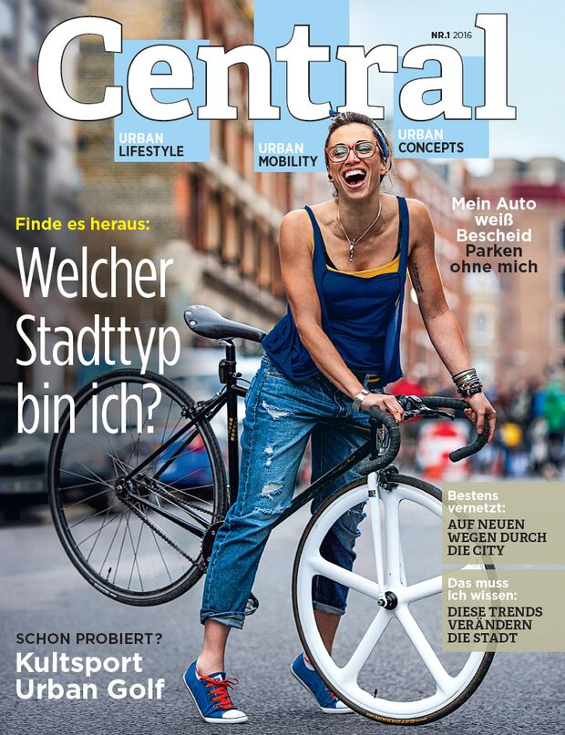 KL Central Magazin Cover Titelbild