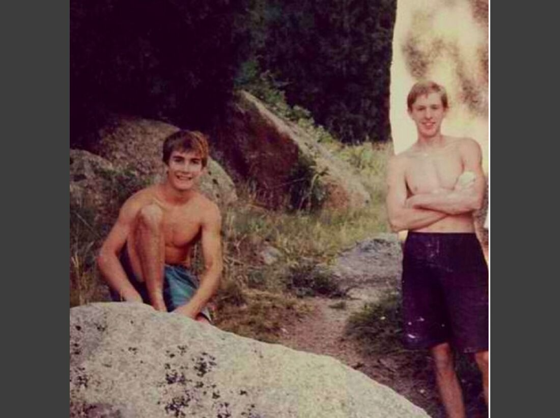 KL Chris Sharma Instagram Tommy and I from 1995