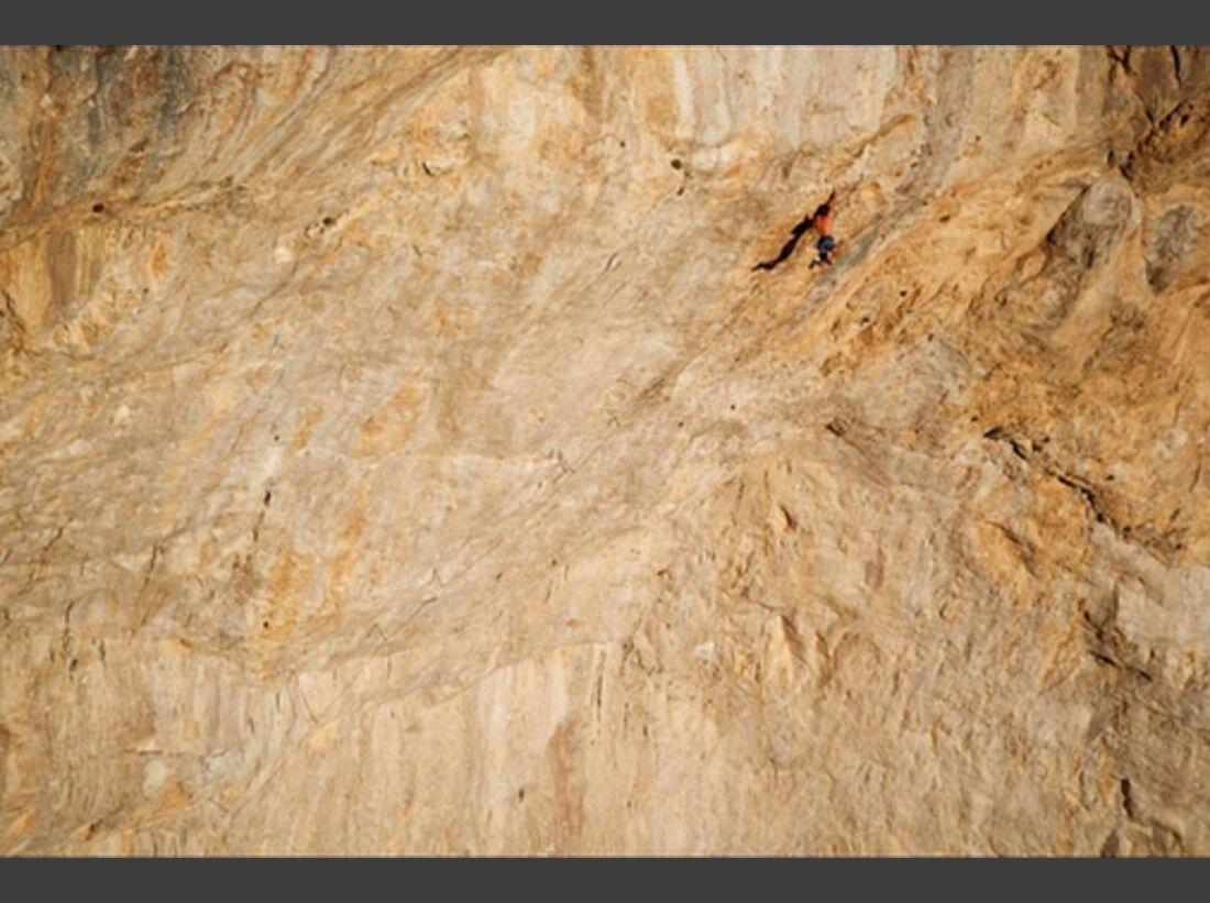 KL Chris Sharma Instagram wall of the amphitheater