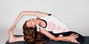 KL Dehnen stretching Yoga Tara Stiles Reebok Teaser Regeneration