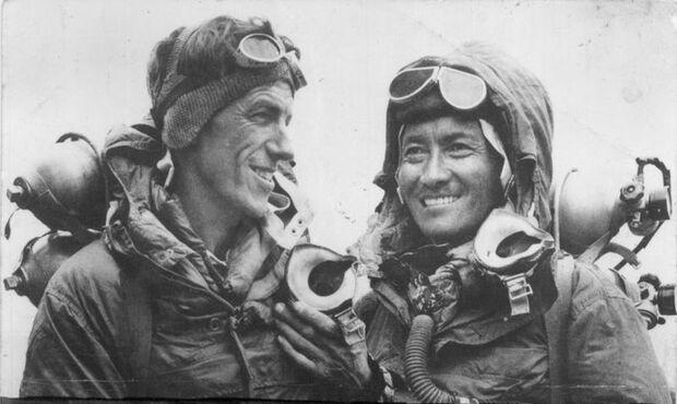 KL Edmund Hillary & Tenzing Norgay Mount Everest