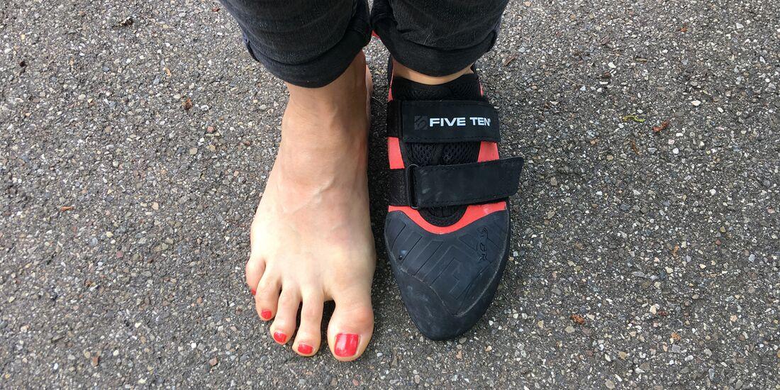 KL Gesunde Füsse trotz Kletterschuhen - Übungen & Tipps