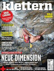 KL Klettern 8 - 2017 Titel Cover