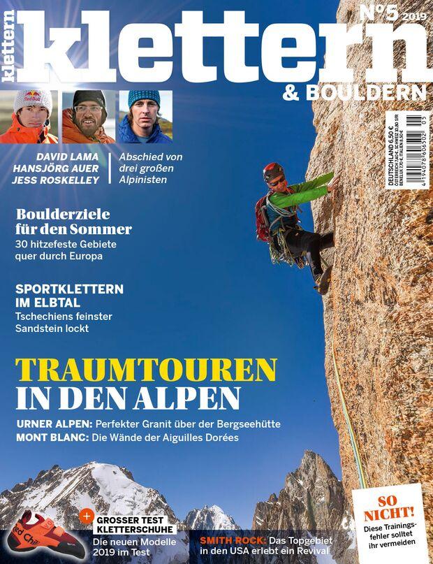 KL Klettern Titel Cover 5-2019