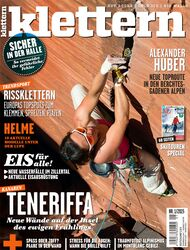KL Klettern Titel Cover klettern 1-2015