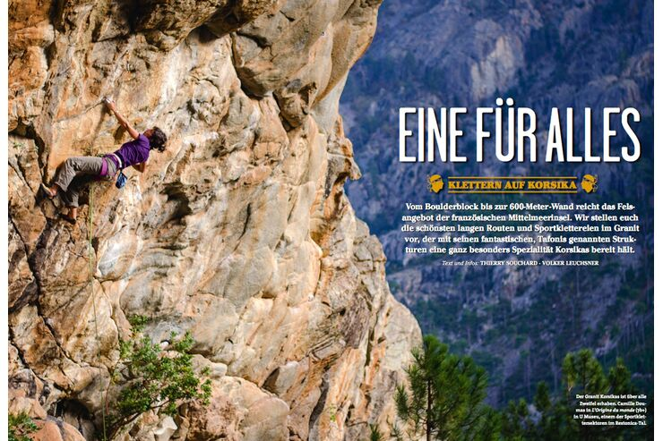 KL Klettern auf Korsika