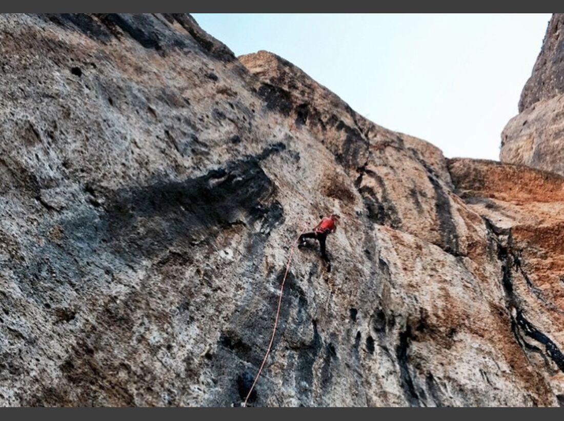 KL Matilda Söderlund Instagram Klettern in Montsant
