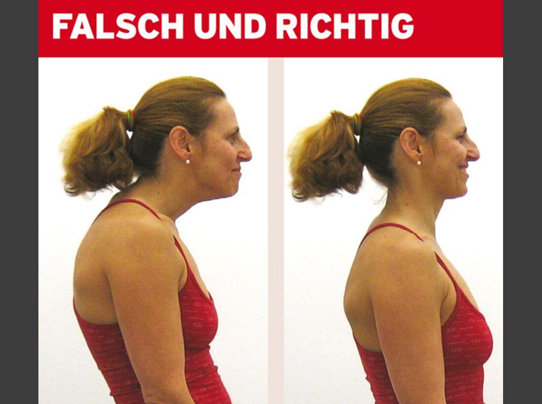 KL Nackenprobleme - Haltung
