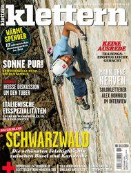 KL Titel Cover klettern 11 2014 Yuji Hirayama