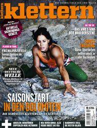 KL Titel Cover klettern 4 - 2016