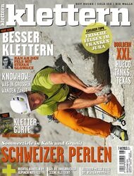 KL klettern Magazin Juli 2013 Cover Titel