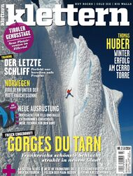 KL klettern Magazin Titel Cover Feb+März 2014