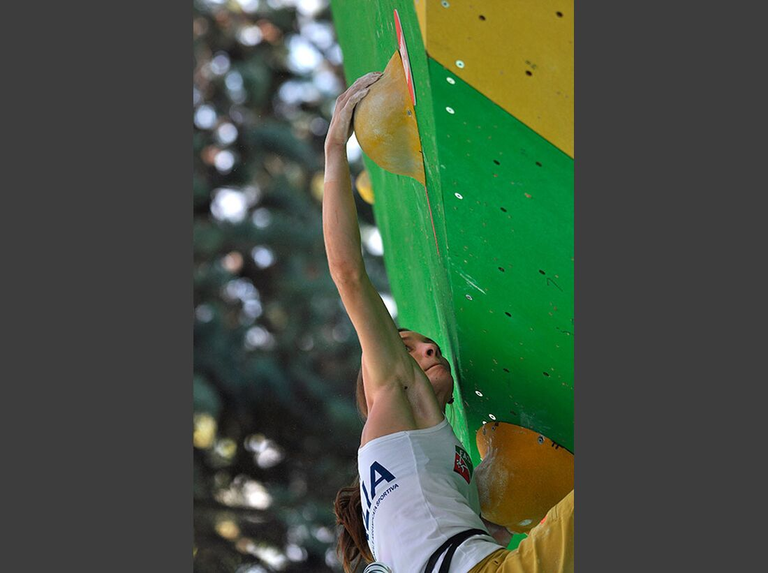 Kletter-Wettkampf: Rock Master Arco am Gardasee (Bilder International Open Boulder) 11