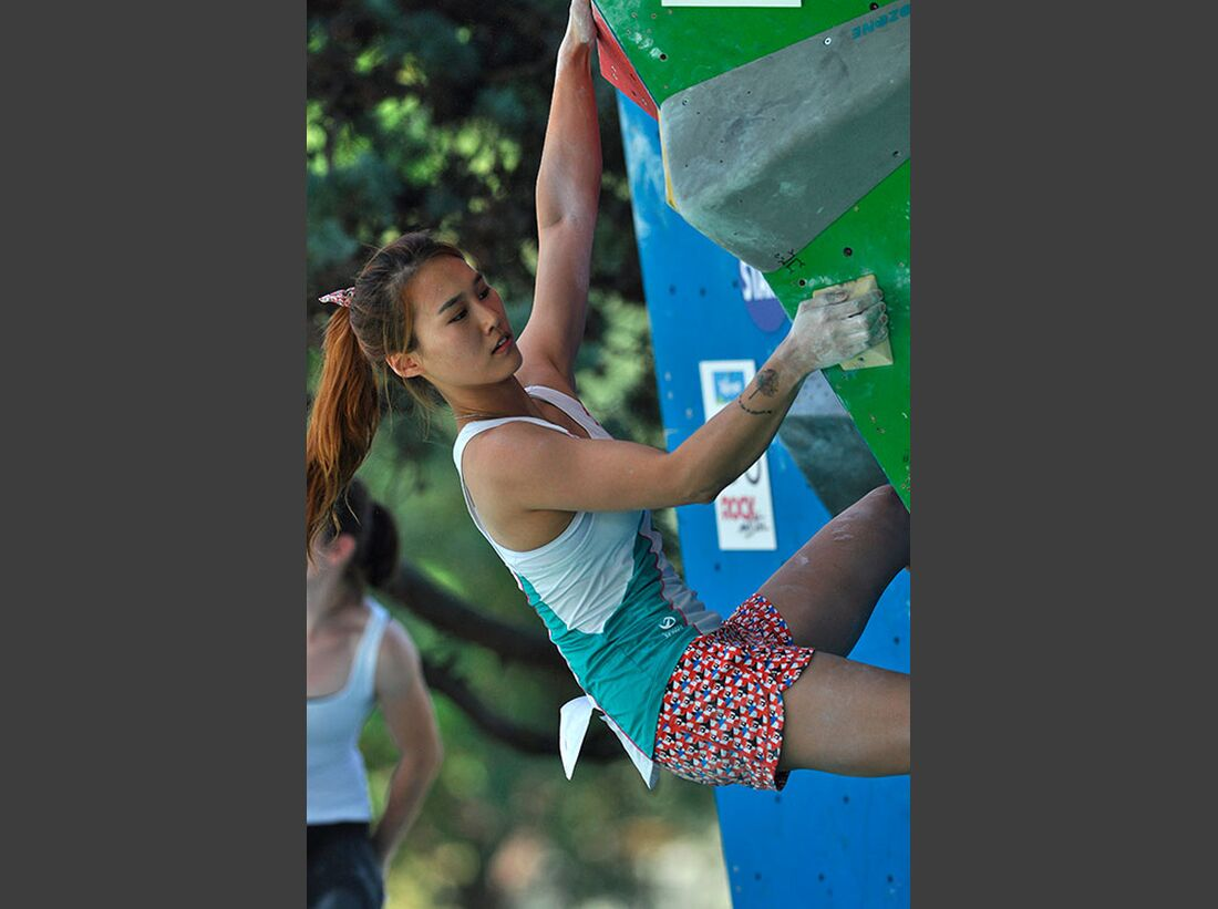 Kletter-Wettkampf: Rock Master Arco am Gardasee (Bilder International Open Boulder) 12