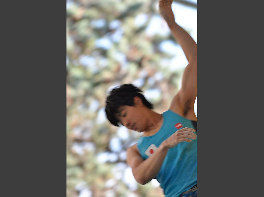 Kletter-Wettkampf: Rock Master Arco am Gardasee (Bilder International Open Boulder) 19