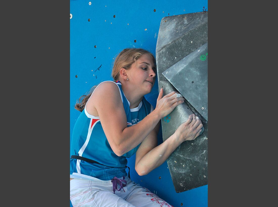 Kletter-Wettkampf: Rock Master Arco am Gardasee (Bilder International Open Boulder) 44