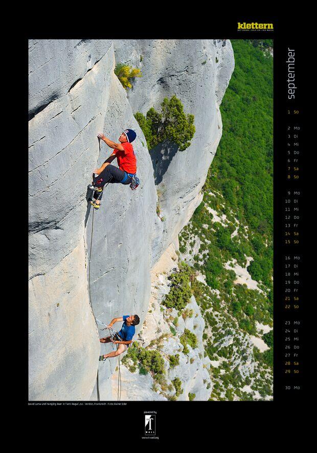 Klettern 2013 - Kalenderbilder 12