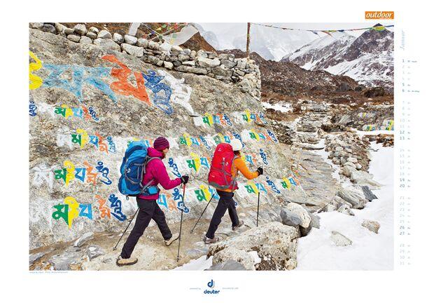 Klettern 2013 - Kalenderbilder 17
