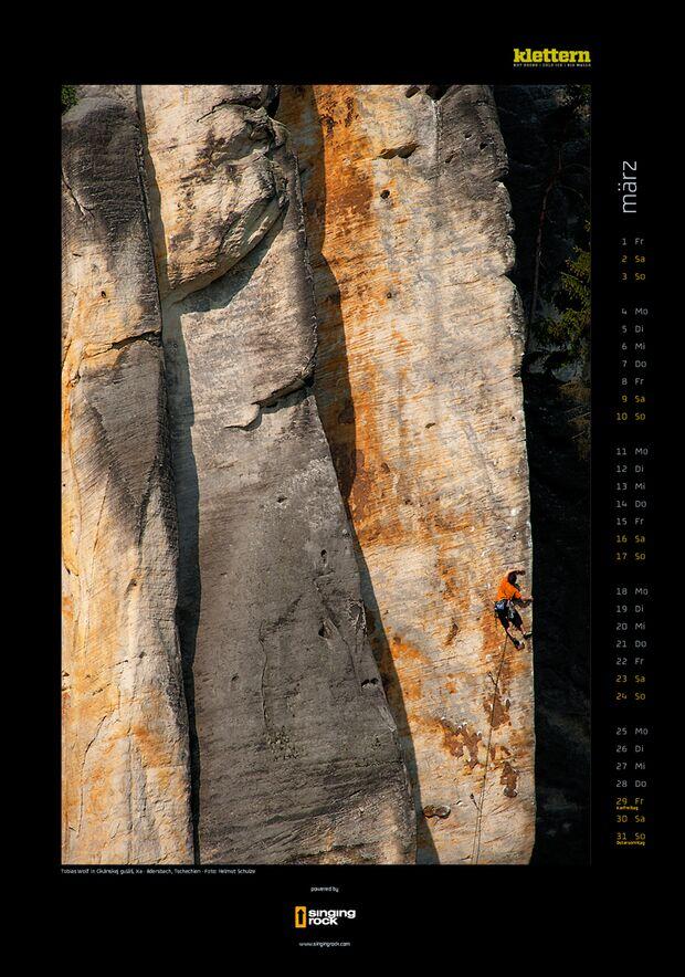 Klettern 2013 - Kalenderbilder 6