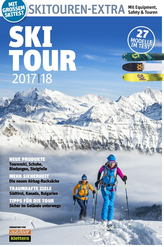 OD PS KL 2017 Skitour Special Cover Extra Beilage Maxi