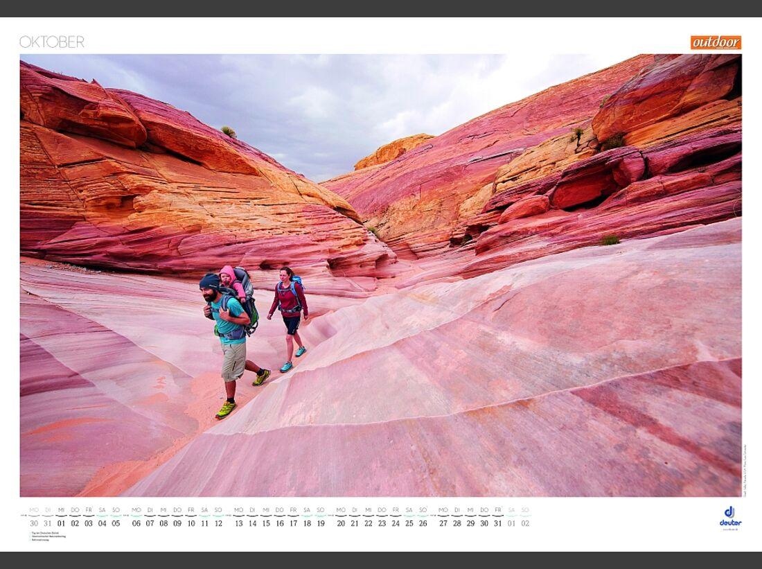 Sportkalender 2014 - klettern, outdoor, Mountainbike 27