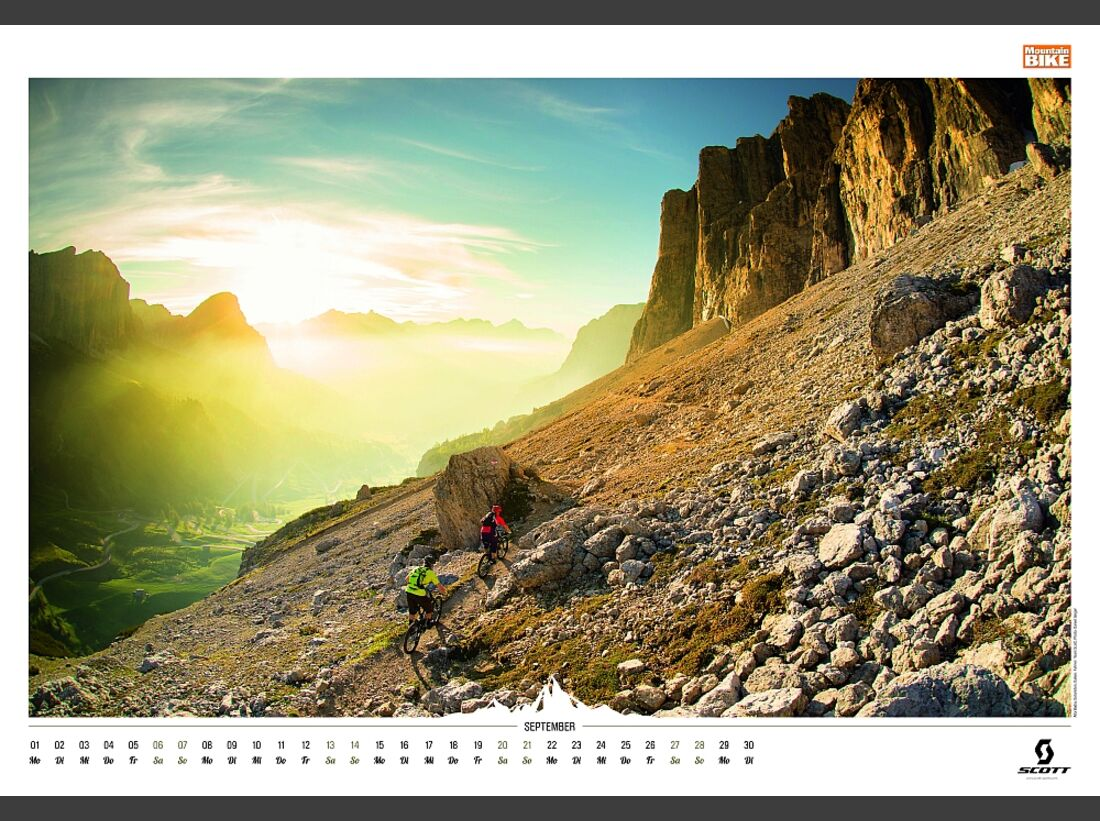 Sportkalender 2014 - klettern, outdoor, Mountainbike 39